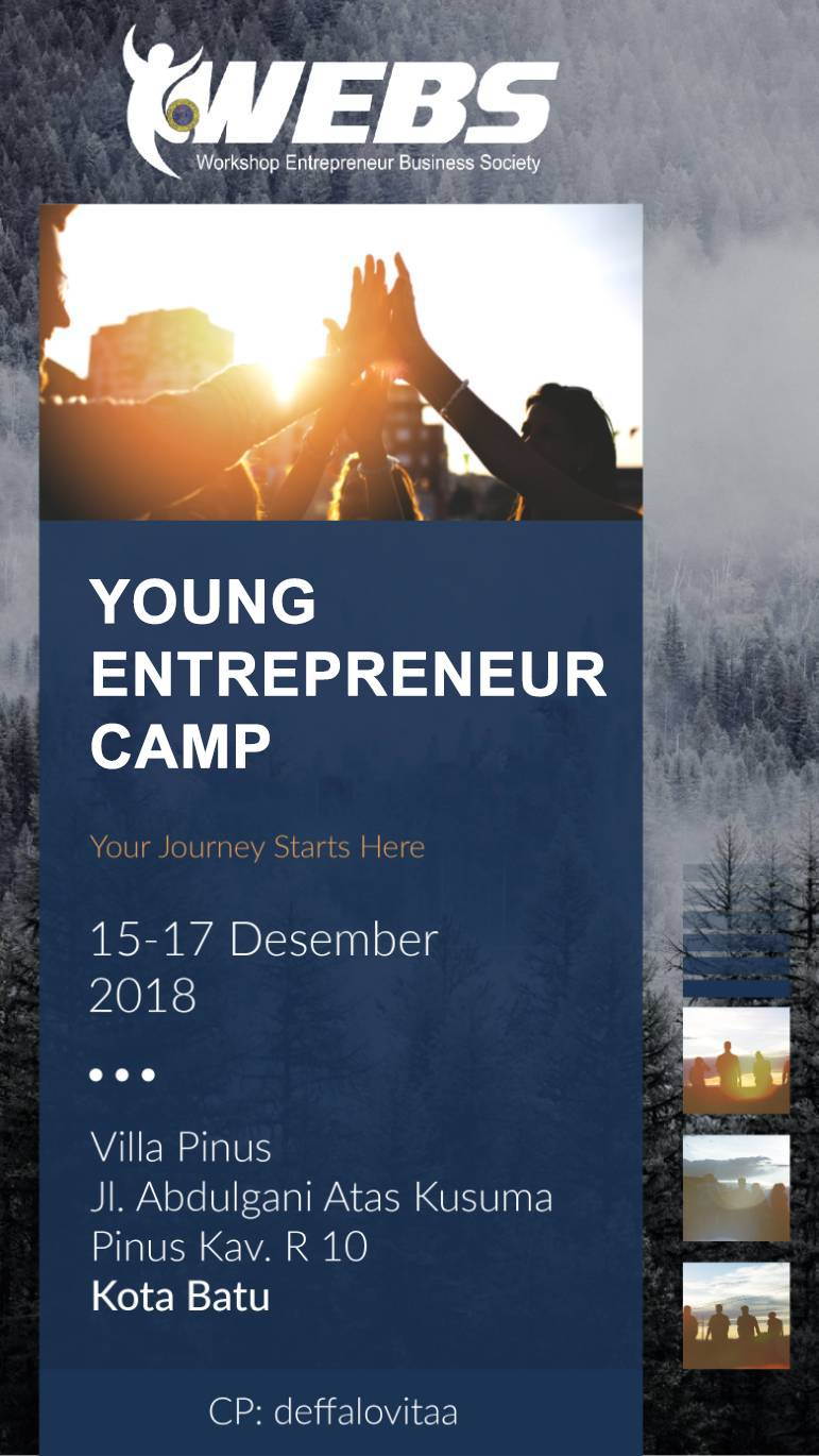 Youth Entrepreneur Camp WEBS Unair 2019